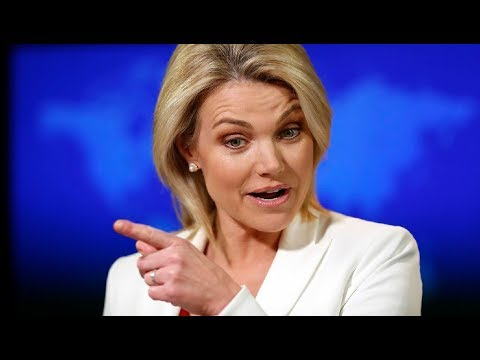 "Heather Nauert SLAMS Liberal Media ""Rex Tillerson serves at the pleasure of President Trump"""
