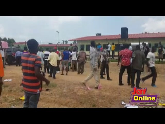 NPP, NDC supporters clash over hospital commissioning