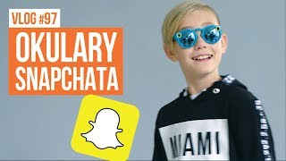 Wystrzałowe okulary Snapchata/ VLOG #97