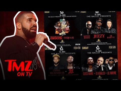 Super Bowl Strip Club Pop Up in Houston…With Drake? | TMZ TV