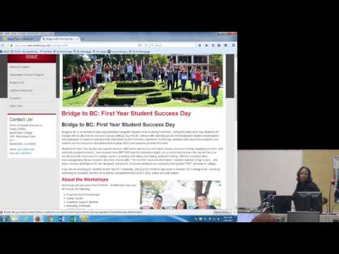 01-20-17 Bakersfield New Faculty Tech Seminar