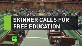 Skinner calls for free education from BoJo's brother