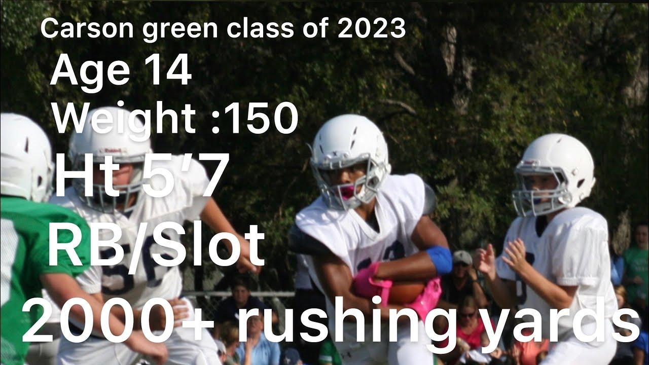 Carson Green's Football Recruiting Profile