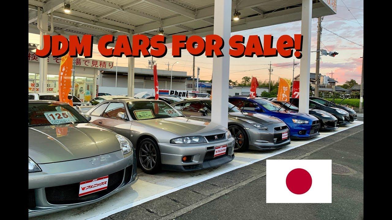 Jdm Cars For Sale In Japan Gtr Supra Gtst Youtube