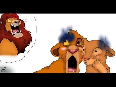 Mufasa,Simba and Nala-Fan art