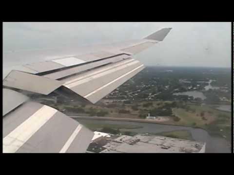 Boeing 747 Landing JFK New York - British Airways from Heathrow