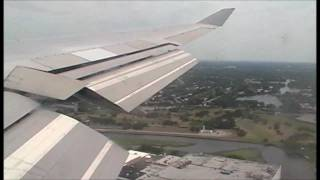 Boeing 747 Landing JFK New York - British Airways from Heathrow