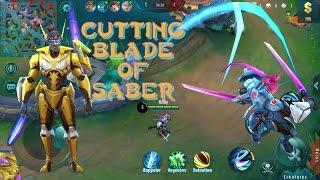 Mobile legends Saber | Episode 1|  MOBA Saber | Saber Highlights | MOBA MVP
