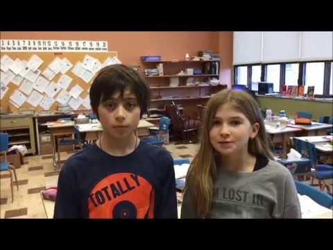 Class video Ste Marie Elementary School, Warwick, Québec, Canada