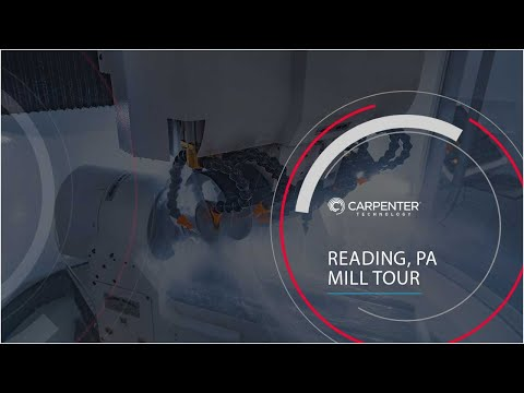 Carpenter Technology - Mill Tour