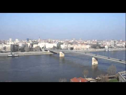 Novi Sad Petrovaradin Fortress video: Danube river Johann Strauss