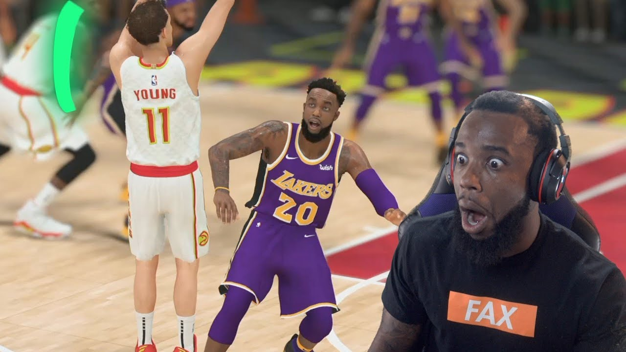 Rookie Of The Year Battle vs Trae Young! Lakers vs Hawks NBA 2K19 MyCareer Ep 26