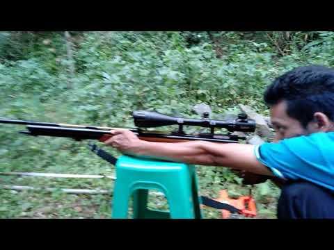 Tes Akurasi Senapan Angin Gejluk Double Power PCp Model Magnum JARAK 38 METER
