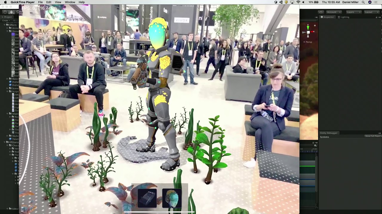 Achieving high-fidelity AR with the Lightweight Render Pipeline - Unity at  GDC 2019