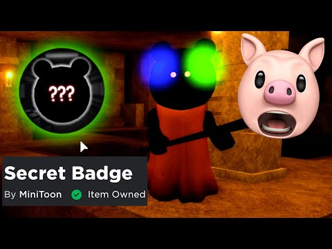 HOW TO GET PIGGY SECRET MAPLE DONUT BADGE + READY PLAYER TWO CROWN OF MADNESS!! | Roblox
