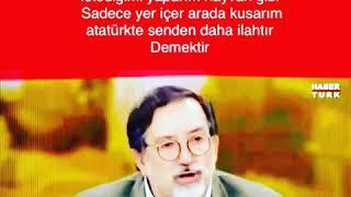 Emine şahin Atatürk ilah değildir