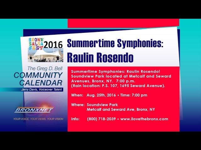 Community Calendar | Aug. 23 - 28, 2016.