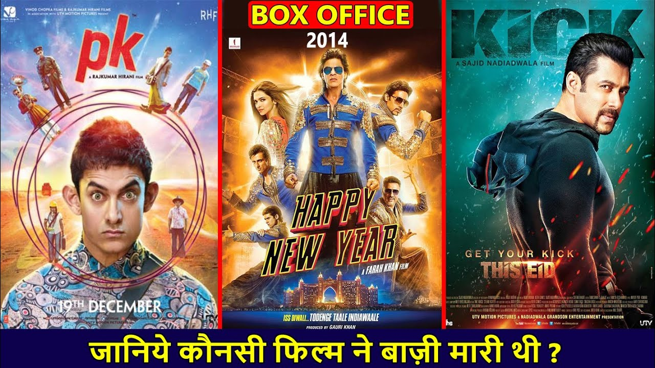 Download PK, Happy New Year vs Kick 2014 Movie Budget, Box Office Collection, Verdict and Facts