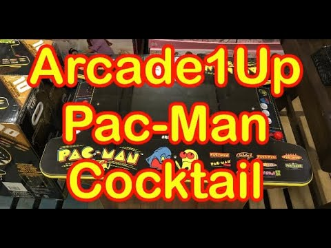 Arcade1Up Pac Man Cock Tail Costco 10 Games Arcade 1Up CockTail Table Cabinet Price from rarecoolitems