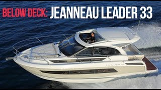 Boat Tour - Jeanneau Leader 33 - Motor Cruiser - Sports Boat - Luxury - Below Deck
