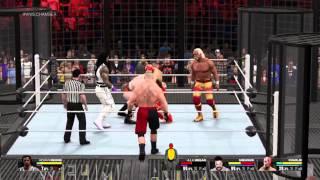 WWE 2K15 offline gameplay #1