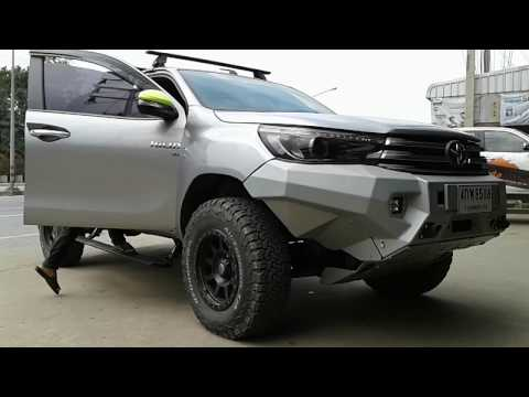 Toyota Hiluk Revo บันไดข้างสไลด์อัจฉริยะ E-BOARD