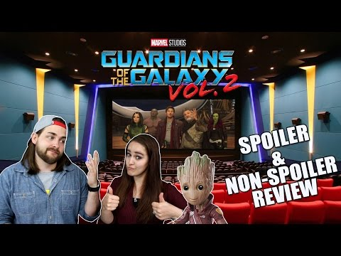 Guardians of the Galaxy Volume 2 Movie Review – Spoilers/Spoiler Free