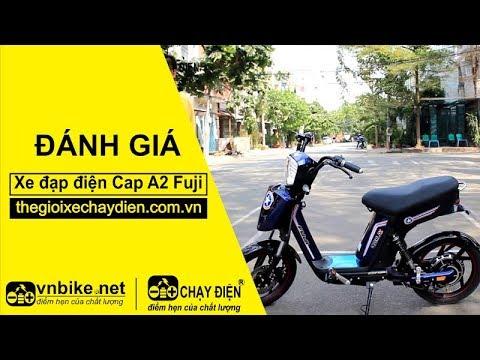 Đánh giá xe đạp điện Cap A2 Fuji