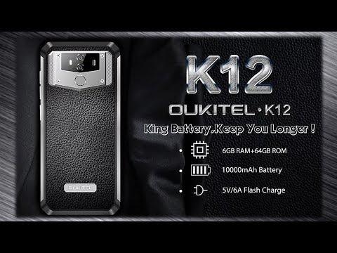 OUKITEL K12 трубка для настоящего мужика! (Оукитель К12) Стиль и автономность.
