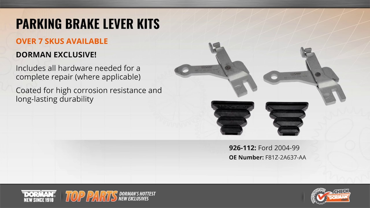 hight resolution of parking brake lever kit by dorman products