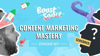 Content Marketing Mastery - Growth Recipes From 3 Experts (Ep007)