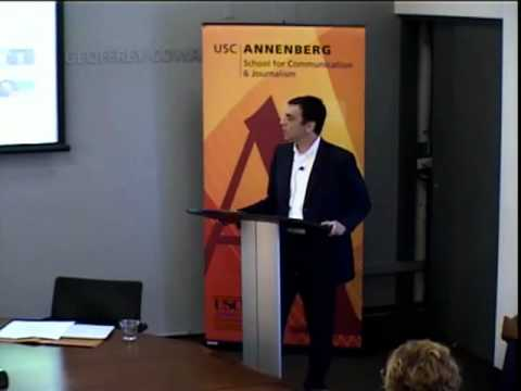 Annenberg Research Seminar - Paolo Sigismondi, University of Southern California
