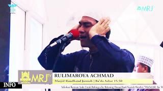 ADZAN MERDU TINGGI AZAN ROST TURKY RULIMAROYA MP3