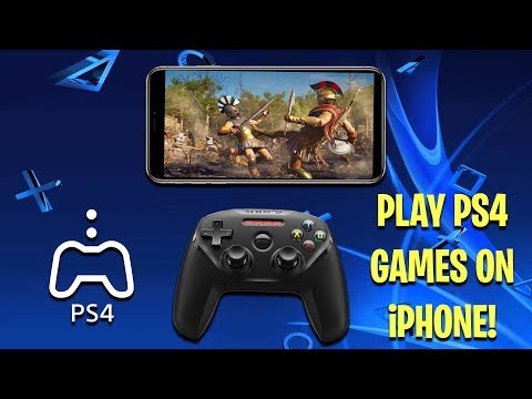 How To Play PS4 Games on iPhone/iPad With A Controller (REMOTE PLAY) (EASY)