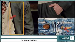 тема деталии одежды Русско-английский видеословарь | Английский язык
