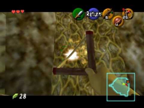 how to get to b2 inside the deku tree