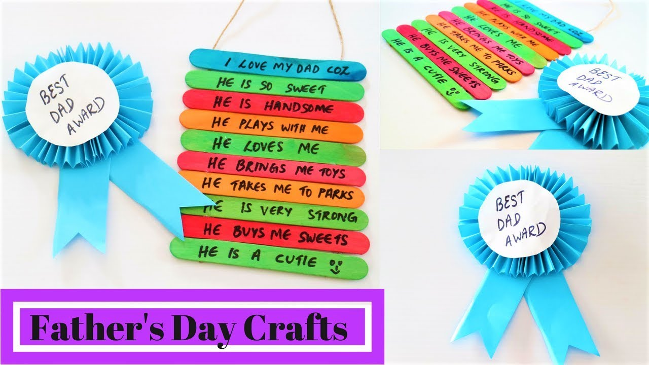 ideas for fathers day crafts 2 awesome s day craft ideas for diy s 6829
