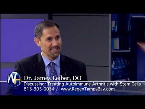 Stem Cells for Treating Autoimmune Arthritis with Regenexx Tampa Bay and Sarasota's James Leiber, DO