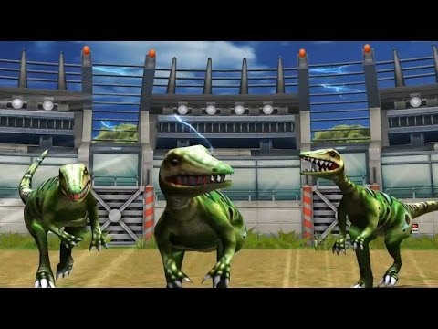 Jurassic Park Builder: Compsognathus [BATTLE] [FINAL EVOLUTION]