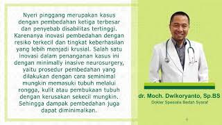 Kunjungan Dr. Mardjono Tjahjadi, SpBS, PhD. Dokter Spesialis Bedah Saraf Mitra Keluarga Kemayoran ke.