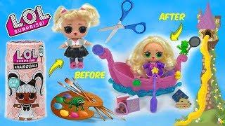 Lol Surprise Hairgoals Makeover Series 5 Custom Disney Rapunzel Series 4 Wave 3