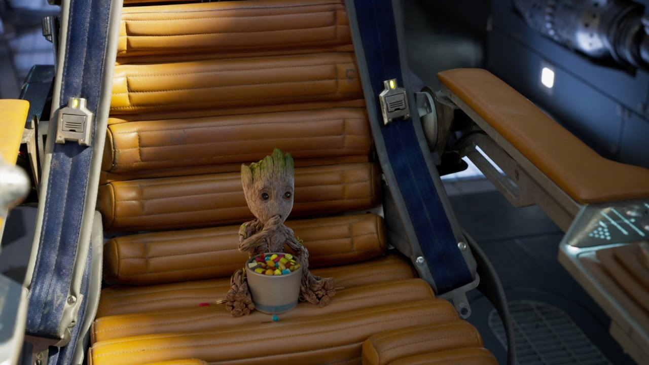 See Marvel's Guardians of the Galaxy in One Month!