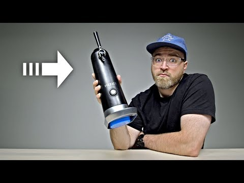 Download Youtube: This Gadget Turns Sound Into Better Bubbles...