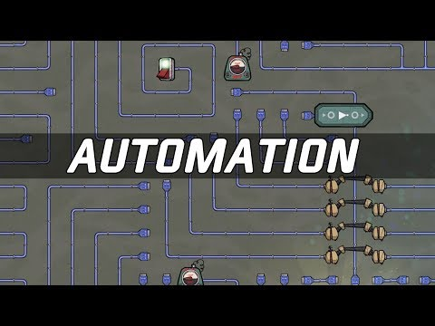 AUTOMATION Upgrade Neue Gebäude - Oxygen Not Included (deuts