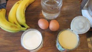 Банановый Ликер своими руками. Рецепт из ресторана. // Олег Карп