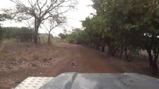 Entrada na Guiné-Conakri depois da fronteira do Mali em Badog…