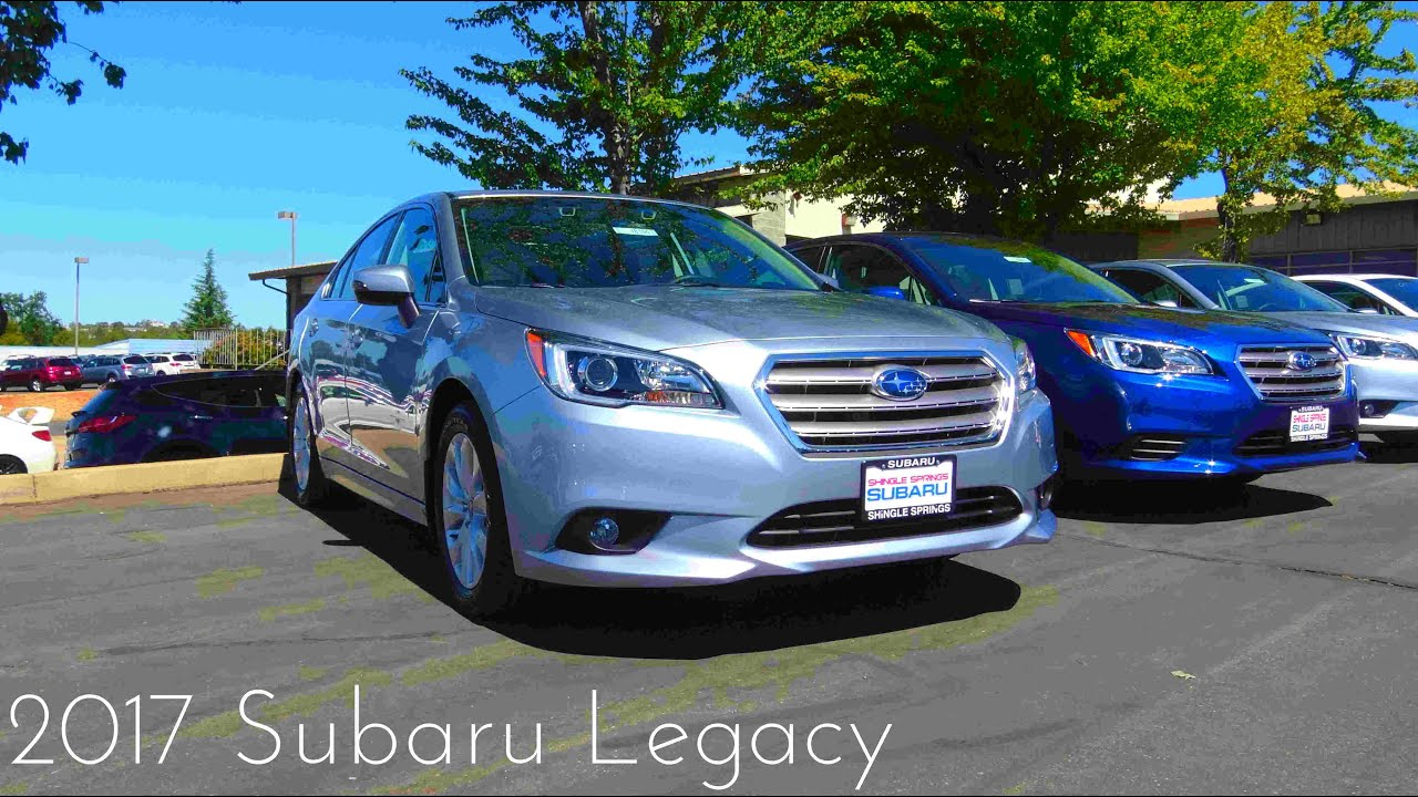 2017 subaru legacy premium review youtube. Black Bedroom Furniture Sets. Home Design Ideas