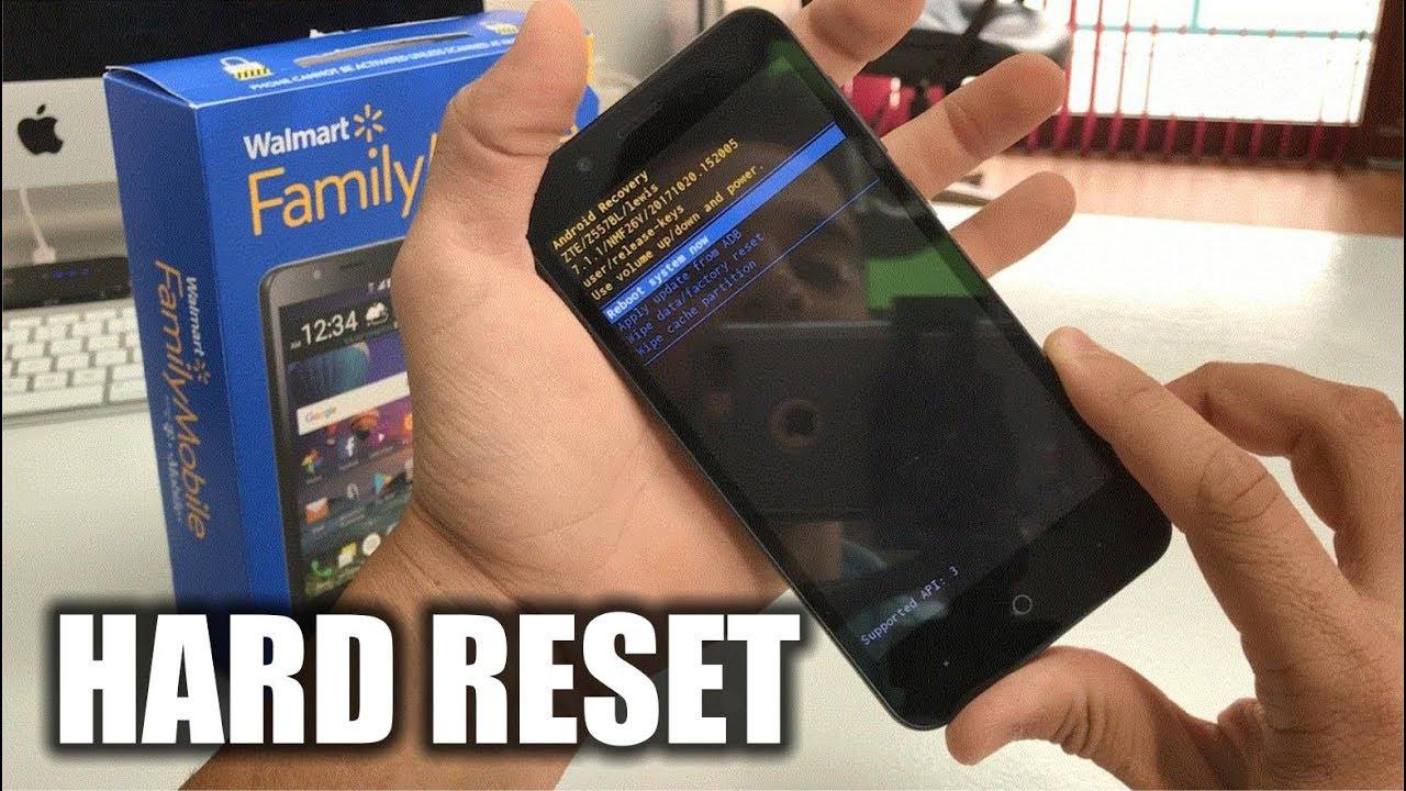 How To Factory Reset ZTE ZFive G - Hard Reset