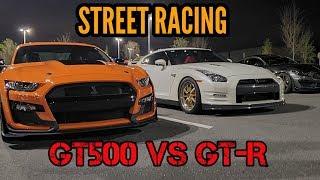 World's Fastest 2020 GT500 Goes Street Racing! + Nissan GT-R, Porsche 991, Evo, & MORE!