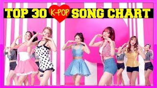 K-VILLE'S [TOP 30] K-POP SONGS CHART - JUNE 2016 (WEEK 1)